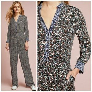 Anthropologie rayon jumpsuit size 6